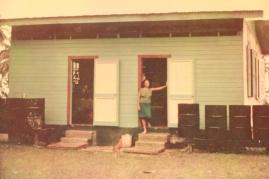 Miss Olga at her original house.