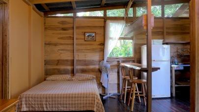 Furnished Log Cabin inside